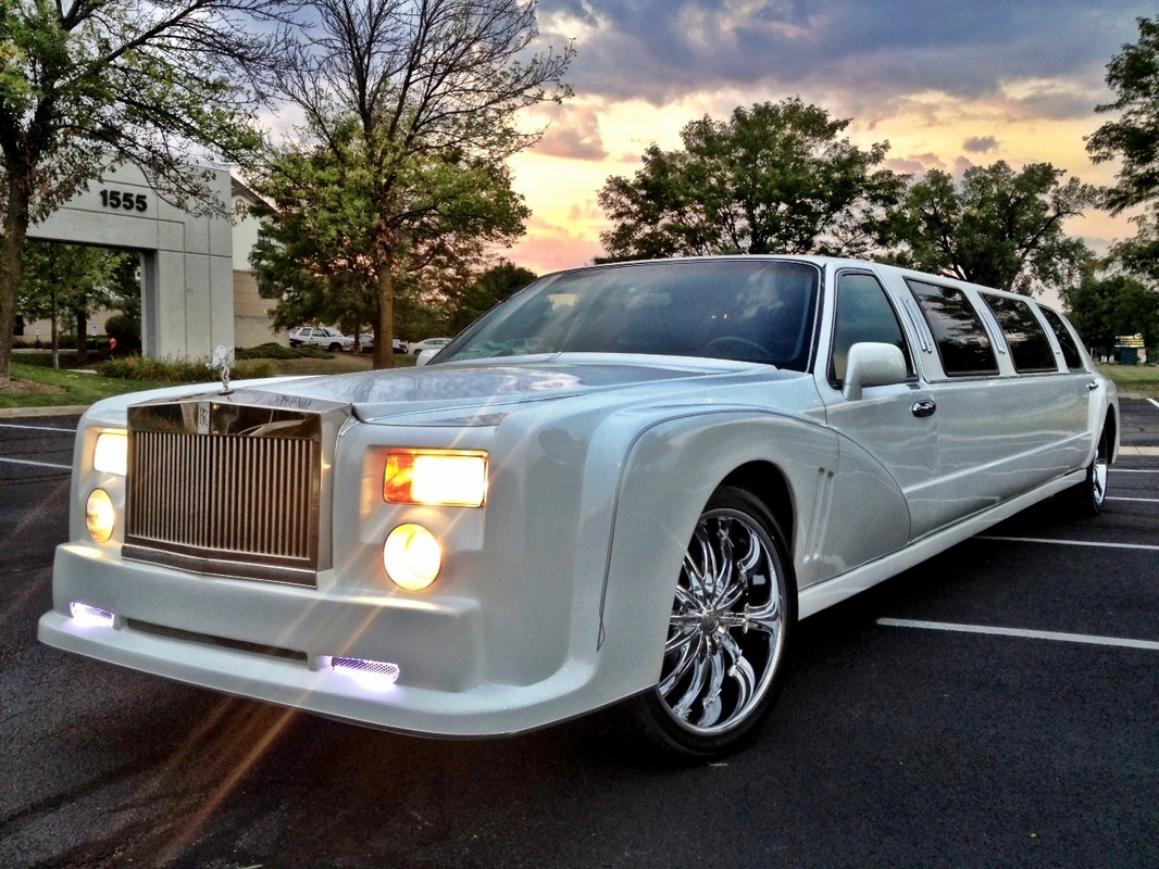 rolls royce stretch limousine - dorchester & norfolk limo